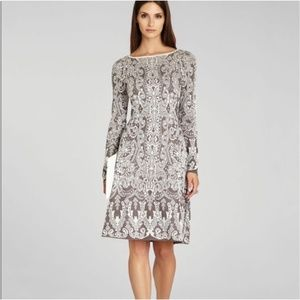 BCBG maxazria petra jacquard dress. Size small